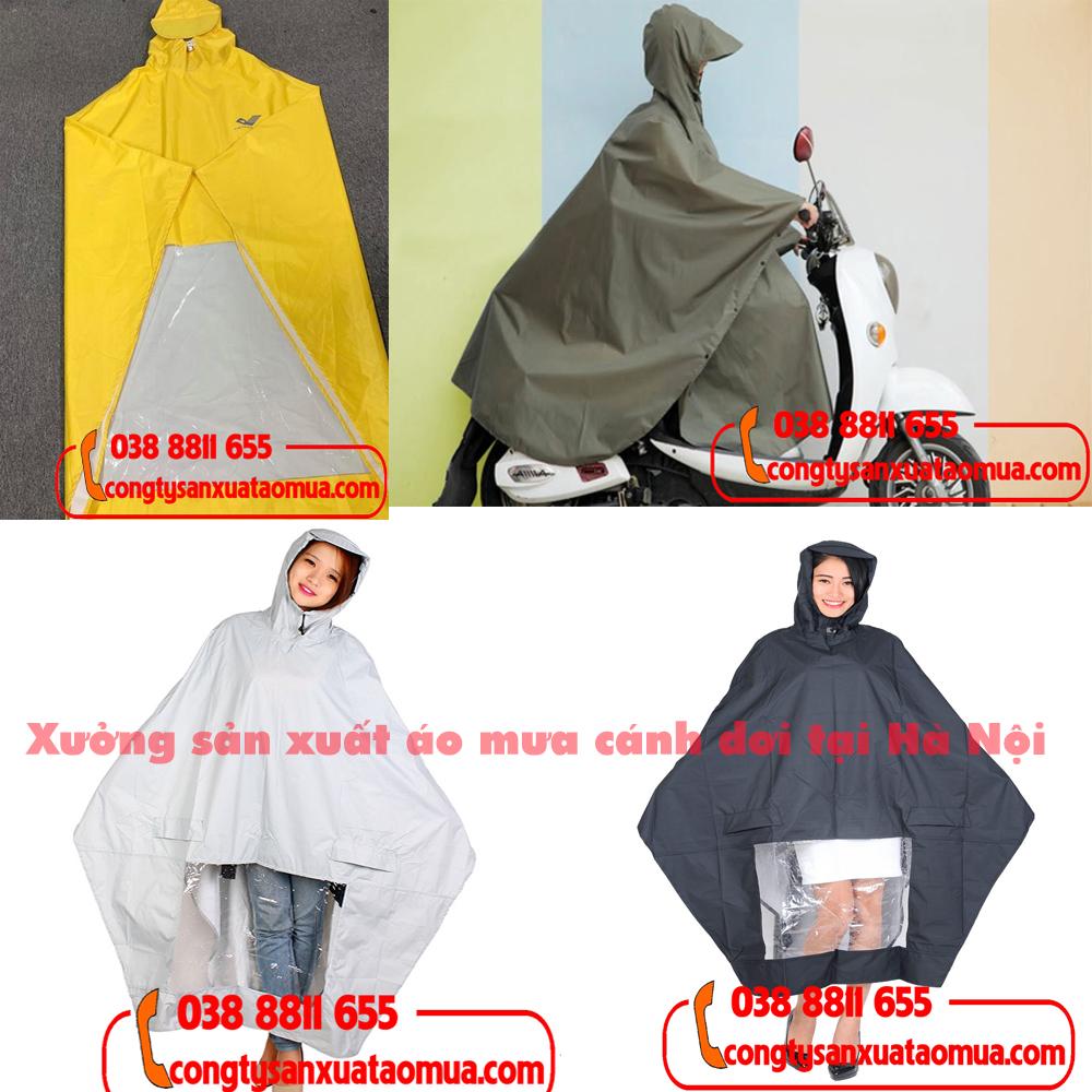 Sản xuất áo mưa theo màu áo khách hàng yêu cầu