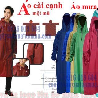 xưởng sản xuất áo mưa tại Hà Nội nhận in áo mưa theo yêu cầu