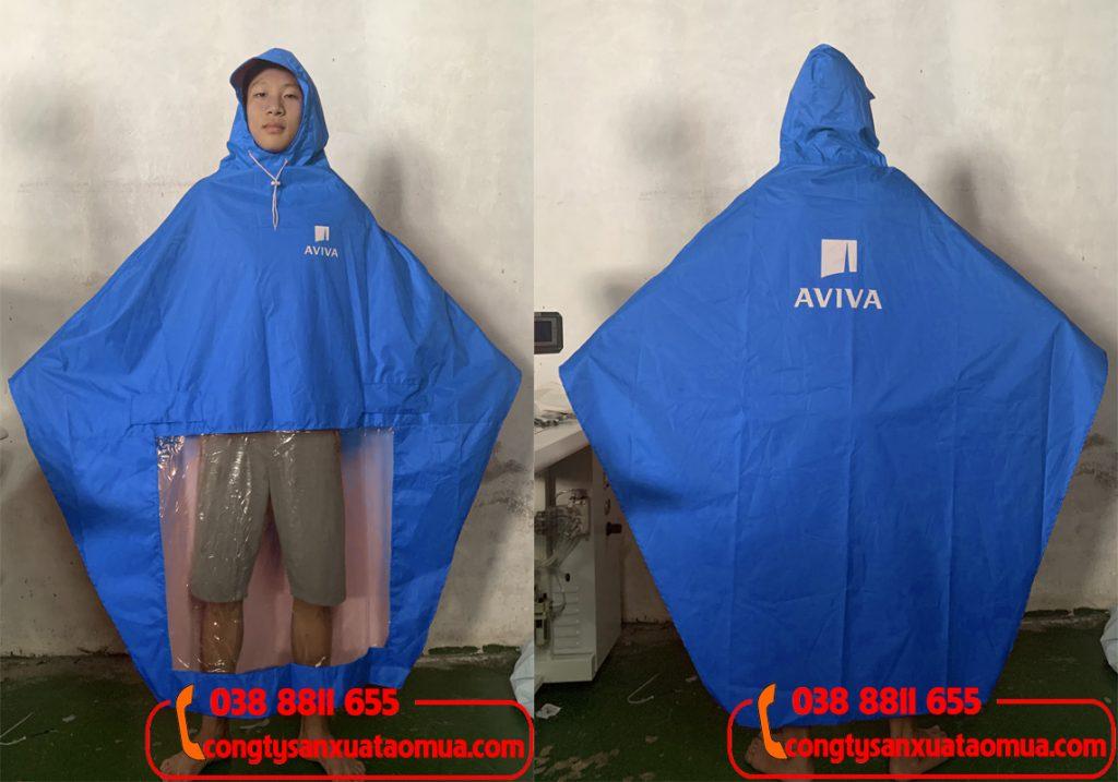 Sản xuất áo mưa quà tặng nhãn hàng