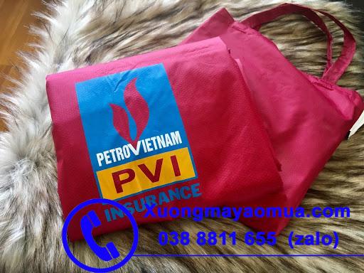 Áo mưa in logo sản xuất tại Xưởng may áo mưa Hà Nội