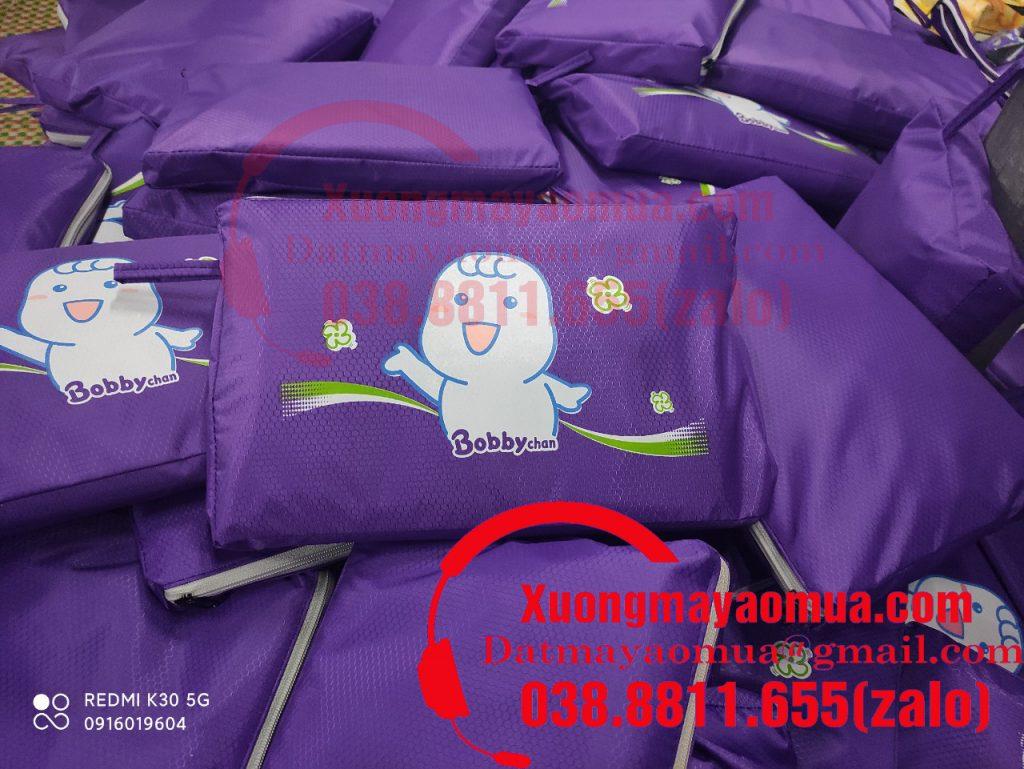 Áo mưa quà tặng in logo nhãn hàng bobby