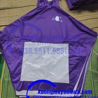 xưởng sản xuất áo mưa quà tặng in logo nhãn hàng