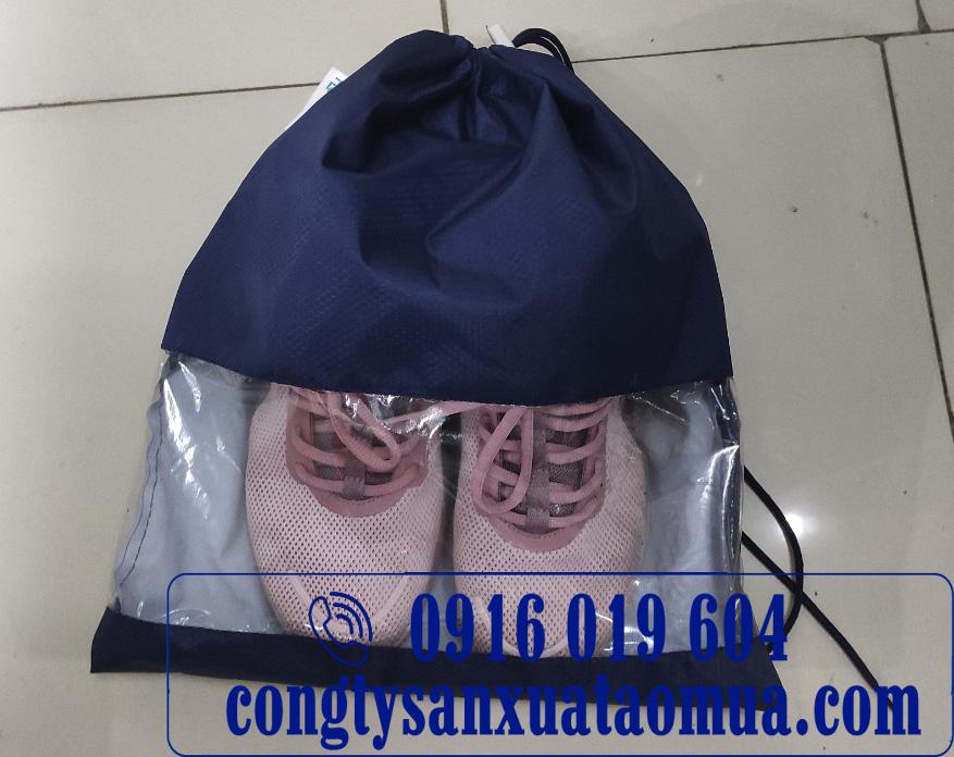 Xưởng sản xuất túi đựng giày chống thấm từ vải áo mưa tại Hà Nội