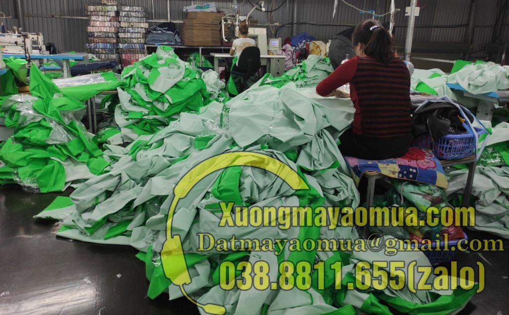 xưởng sản xuất áo mưa tại Đông Anh ( Hà Nội )