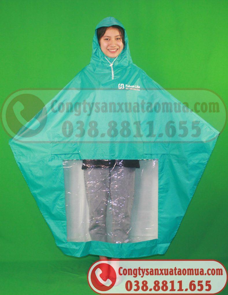 xưởng may áo mưa quà tặng in logo công ty công đoàn