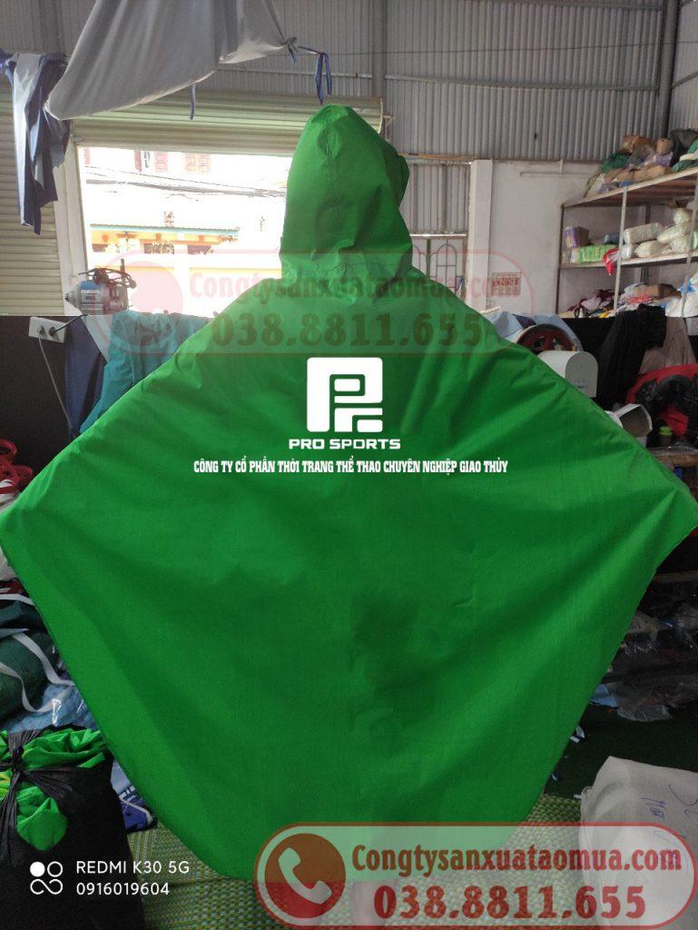 Xưởng sản xuất áo mưa quà tặng in logo tại Nam Định