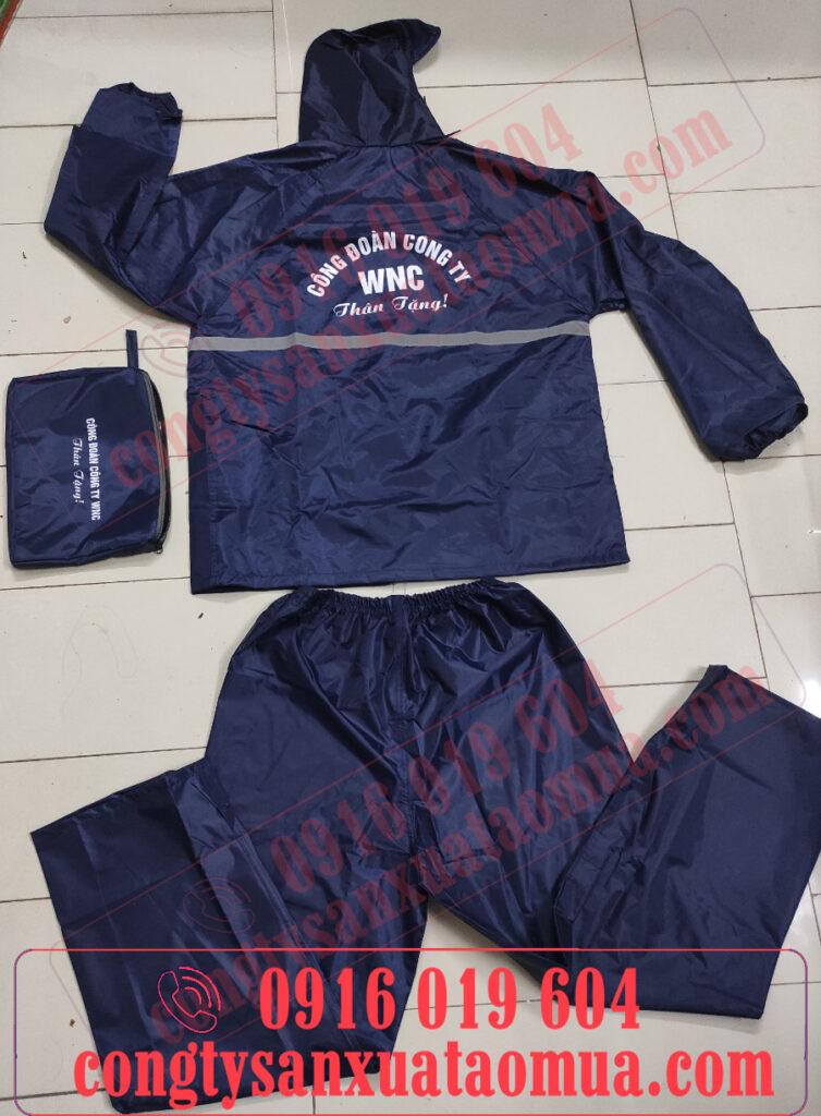 Nhà cung cấp áo mưa bộ quà tặng in logo uy tín cho các công ty công đoàn