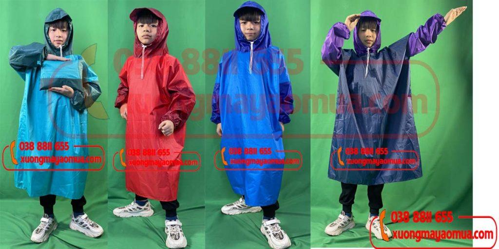 Xưởng may áo mưa cho trẻ em tại Hà Nội