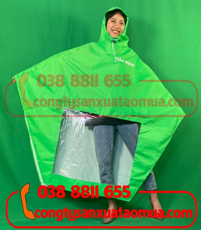 Sản xuất áo mưa quà tặng màu cốm